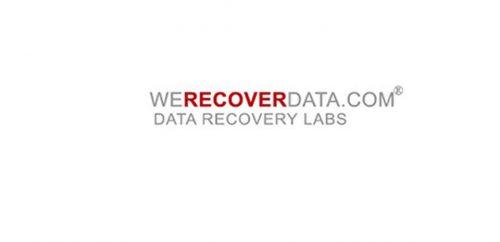 WeRecoverData Data Recovery Inc.