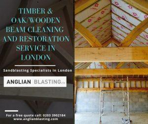 Oak beam restoration and cleaning in London.jpg