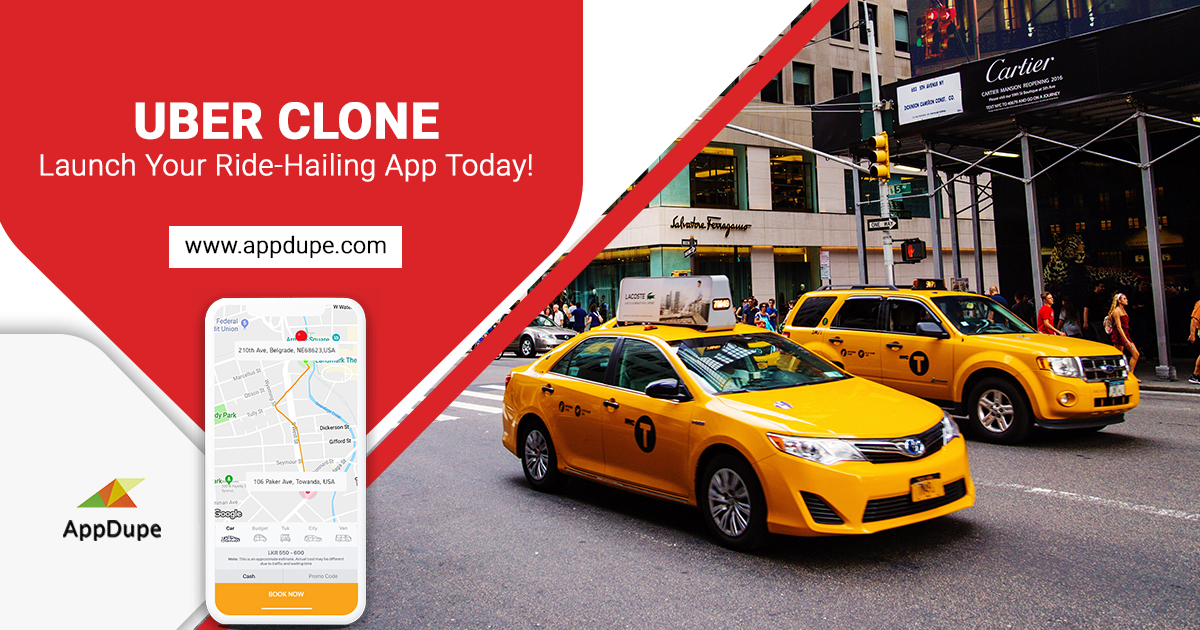 Uber Clone – Get your branded taxi app development with this