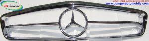 Mercedes W113 Front Grille.jpg