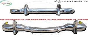 Mercedes W190 SL bumper (1955-1963) stainless steel.jpg