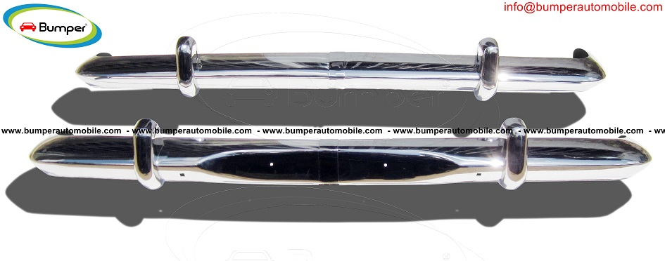 Opel Rekord P2 bumper (1960-1963) in stainless steel.jpg