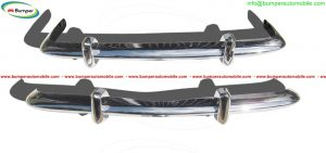 VW Karmann Ghia Euro style bumpers in stainless steel.jpg