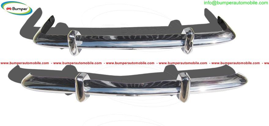 VW Karmann Ghia Euro style bumpers in stainless steel.jpg