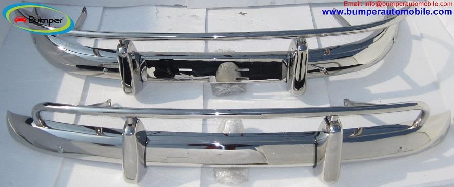 Volvo PV 544 US type bumper in stainless steel.jpg