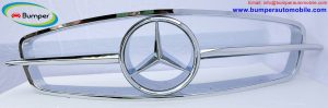 Mercedes W121 190SL Grille by stainless steel.jpg